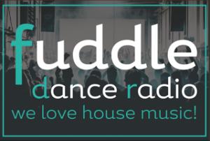 fuddle dance radio logo rect + border nieuw