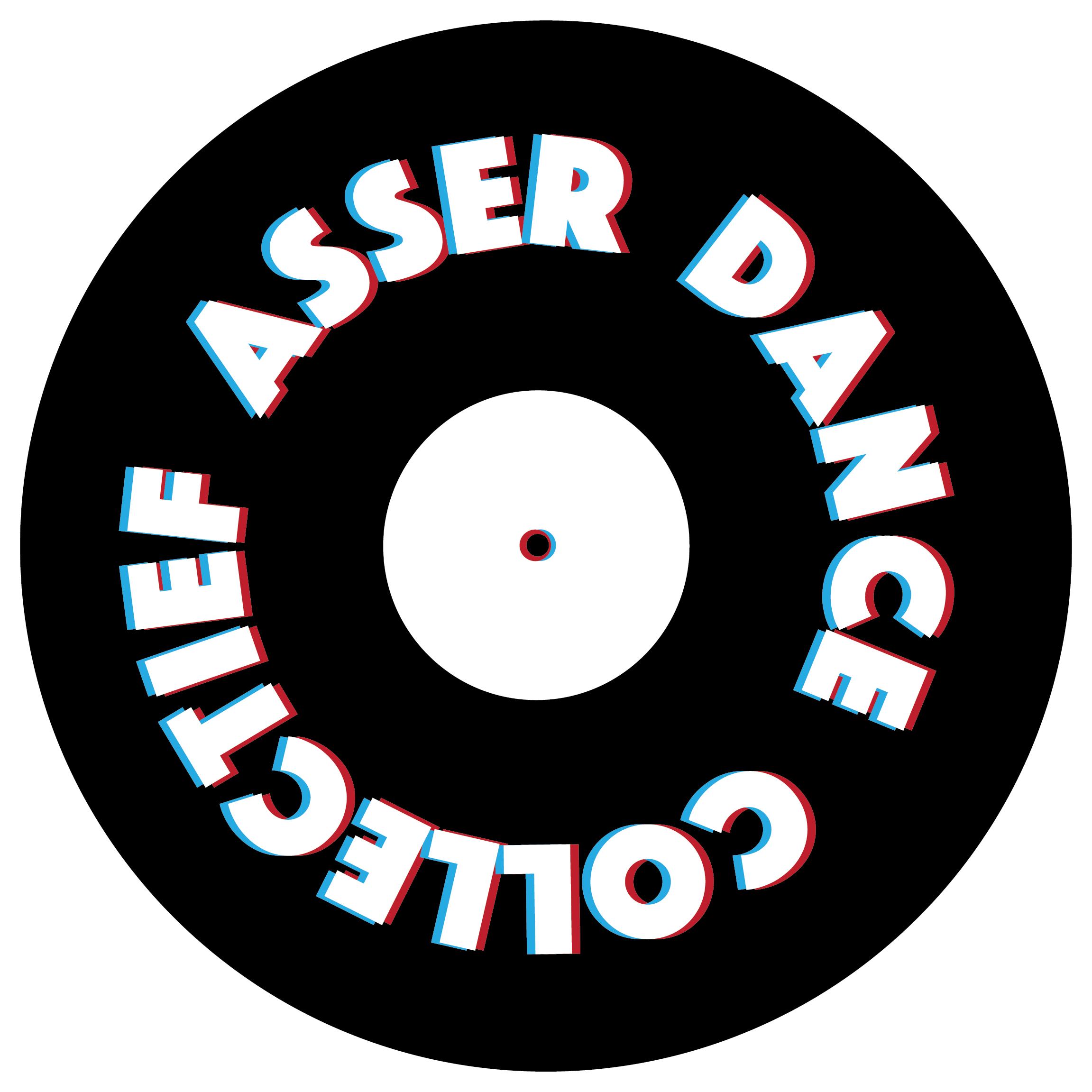 ADC Logo Vinyl Witte Rand